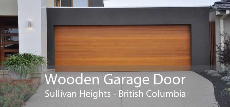 Wooden Garage Door Sullivan Heights - British Columbia