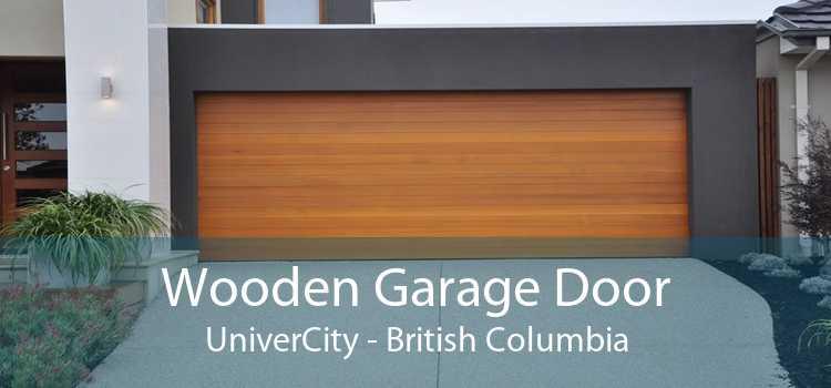 Wooden Garage Door UniverCity - British Columbia